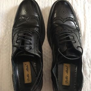 ALDO Men's black lace-up leather oxford US 10.5